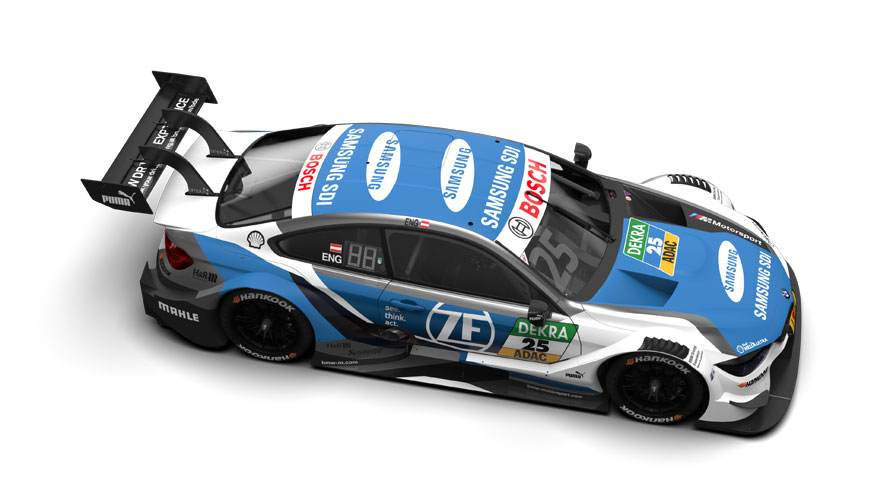 #25 Philipp Eng, BMW Team RMR, SAMSUNG BMW M4 DTM