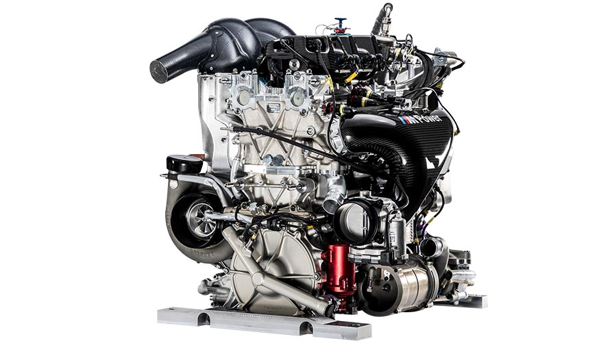 The newly developed BMW P48 turbo engine