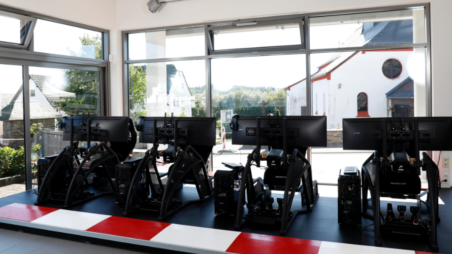 BMW Motorsport Simulators.