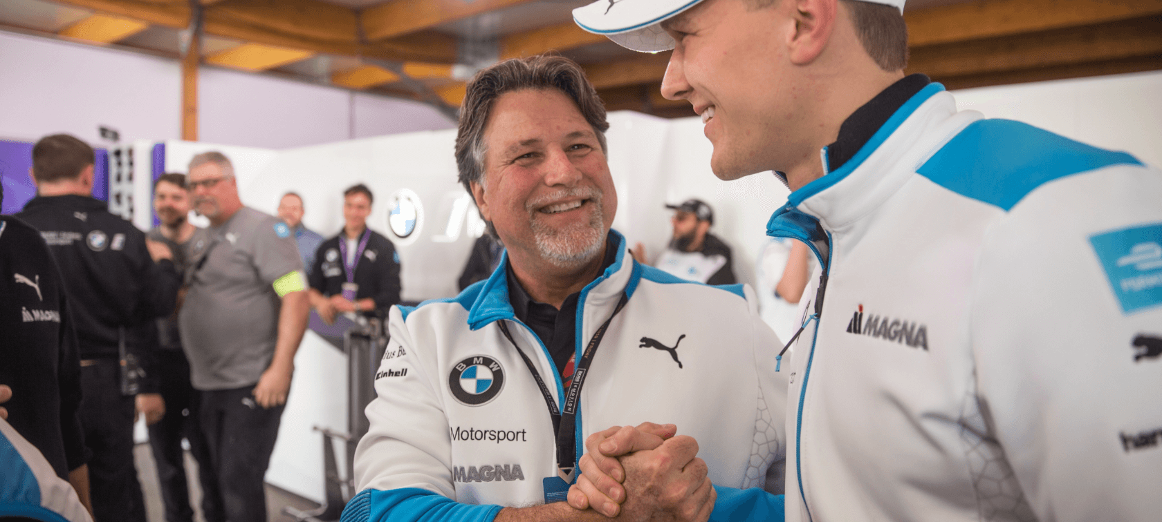 Michael Andretti and Maximilian Günther.