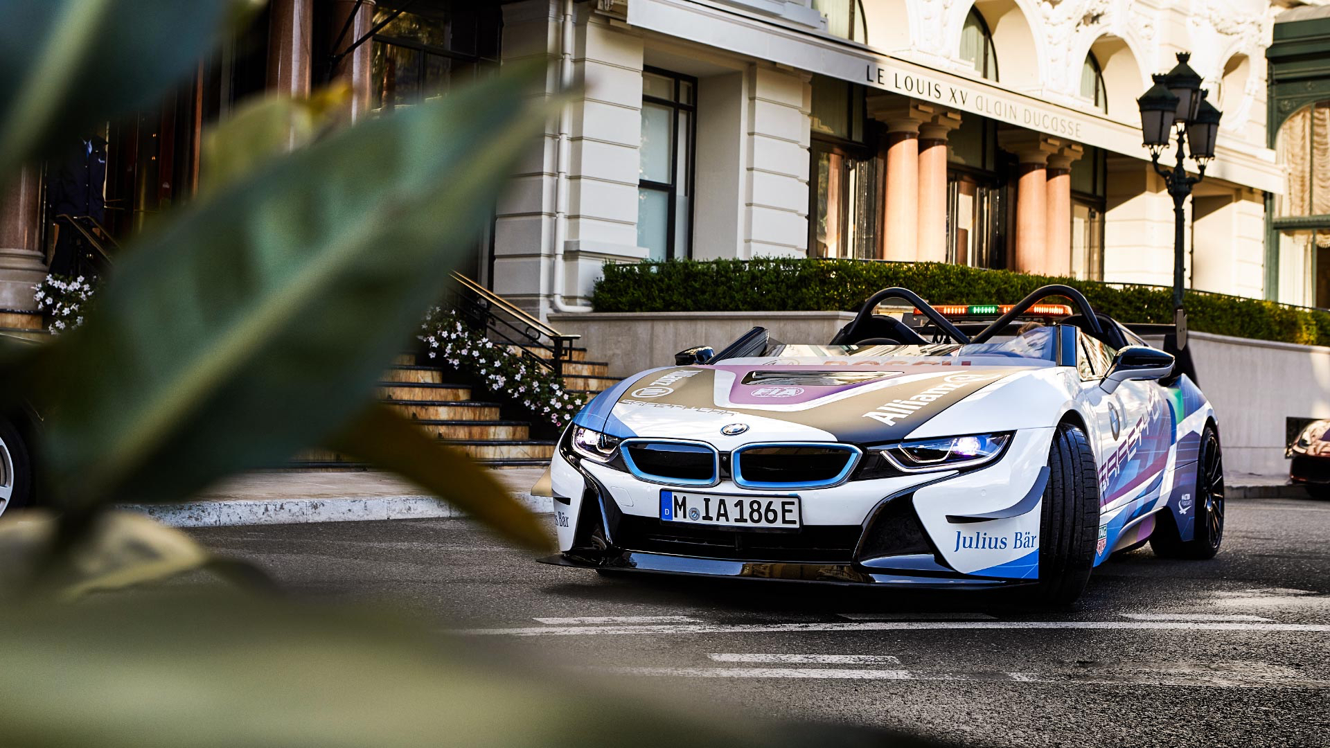 BMW i8 Roadster Safety Car in Monaco
