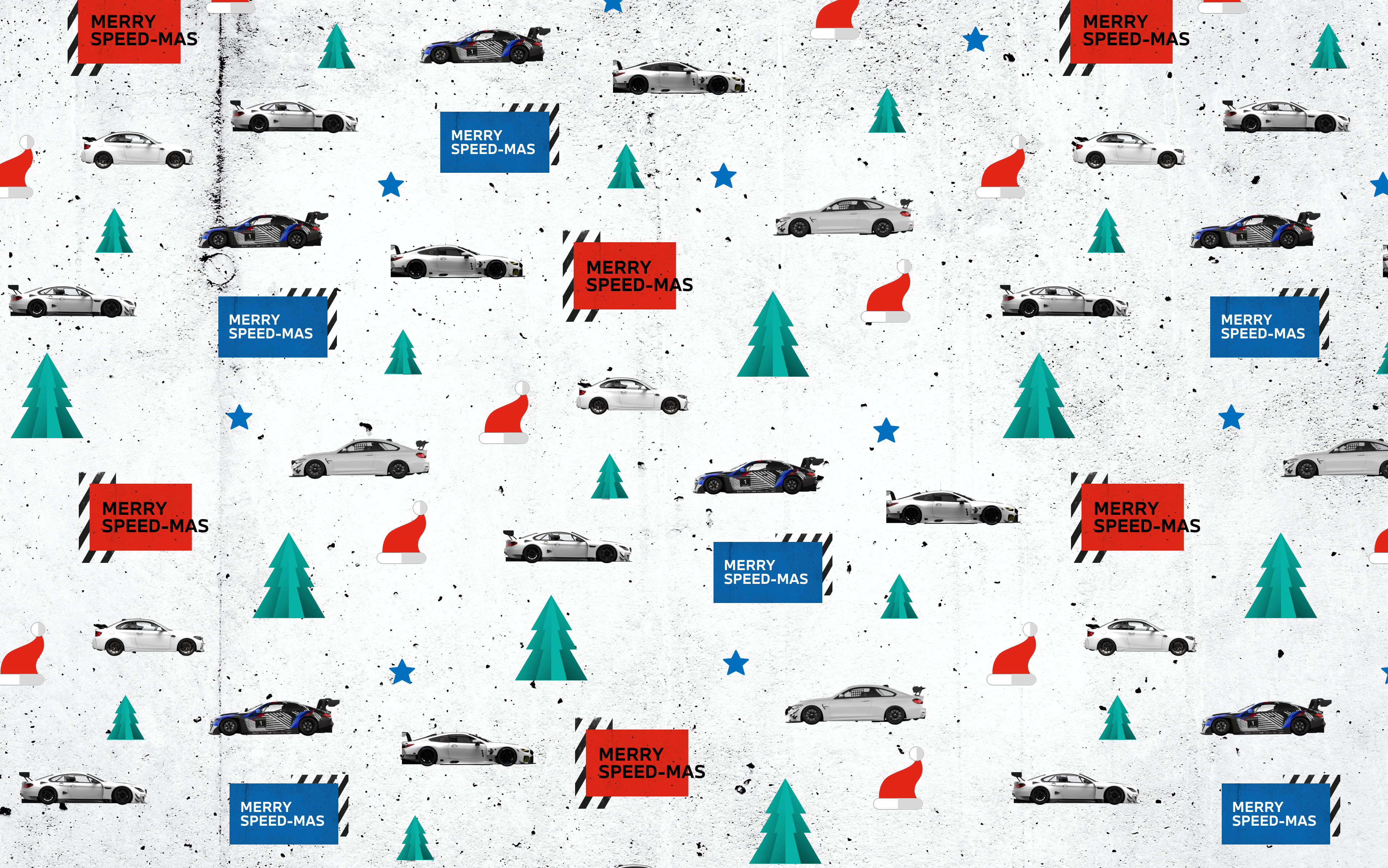 BMW M Motorsport Wrapping Paper & Wallpaper