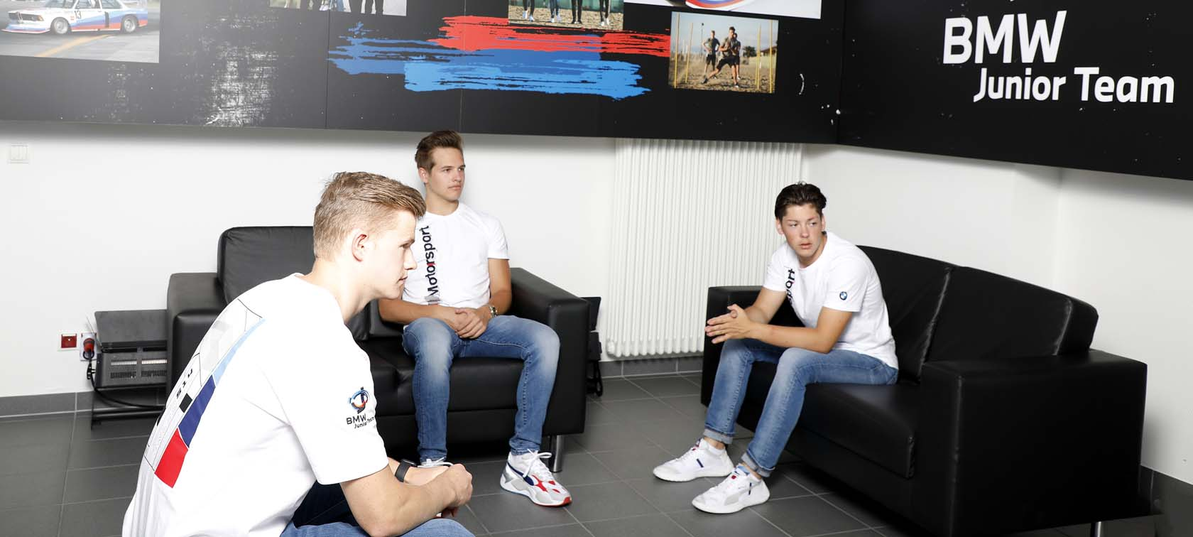 BMW Junior Team, Max Hesse, Dan Harper, Neil Verhagen