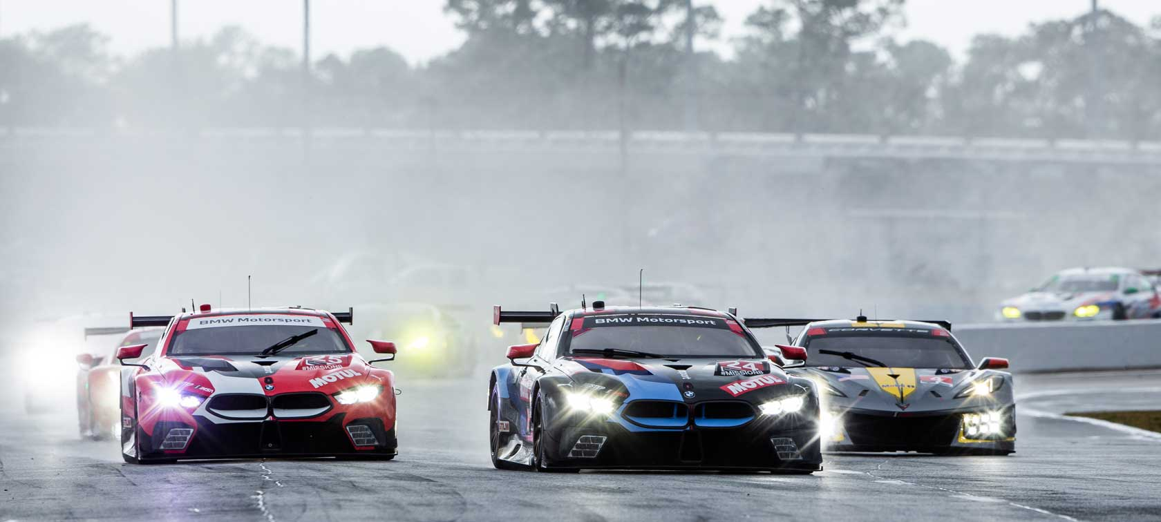 Roar before the 24, BMW M8 GTE