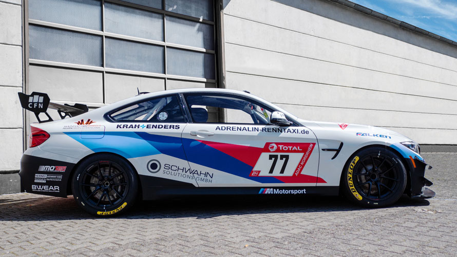 Pixum Team Adrenalin Motorsport BMW M4 GT4