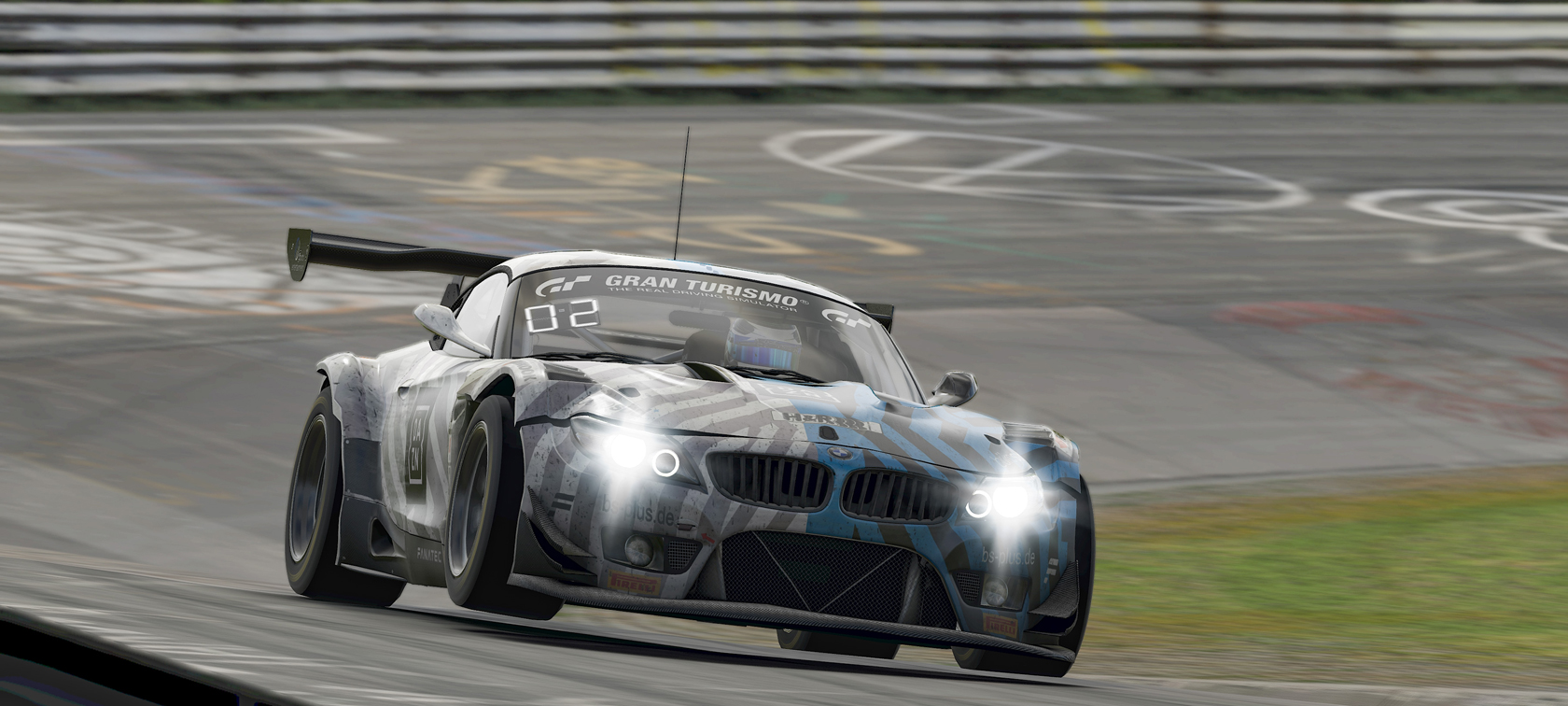 BMW Z4 GT3, Digitale Nürburgring Langstrecken-Serie