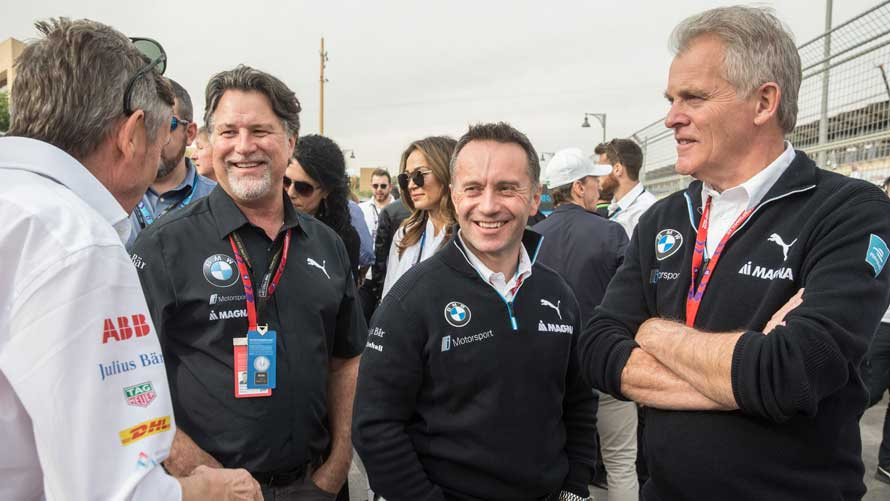 Roger Griffiths, Michael Andretti, J-F Thormann