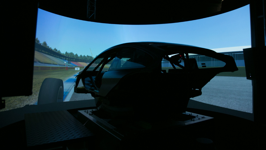 BMW Motorsport Simulator